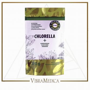 Chlorella + Juodgrūdė